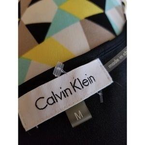 Calvin Klein Tops - Calvin Klein Size M Sleeveless Top Multi-Color